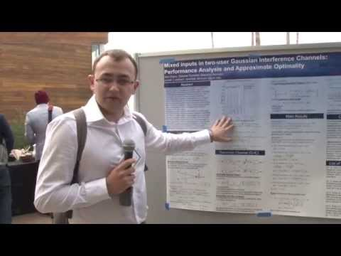 ITA 2015 Poster Session - Alex Dytso, University of Illinois at Chicago