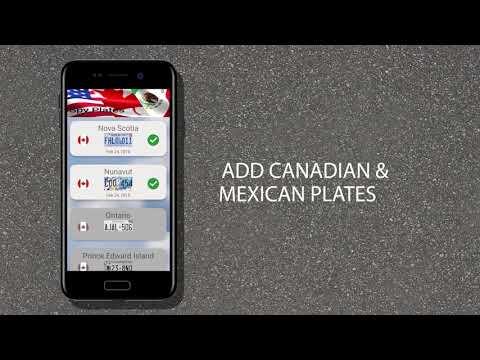 Spy Plates - license plate app
