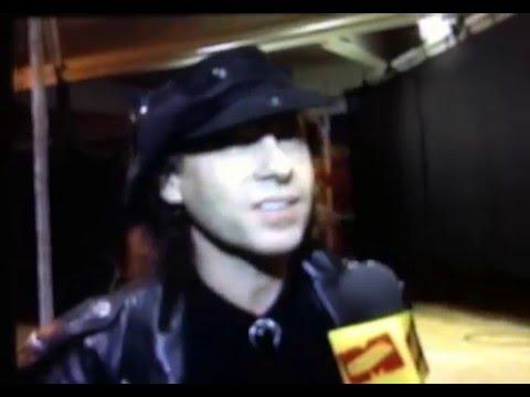 Klaus Meine (the Scorpions) backstage Interview