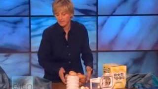 Ellen with infomercial products