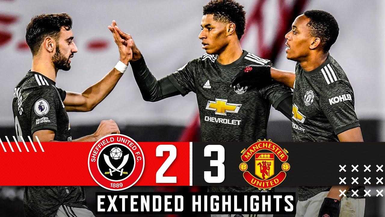 Sheffield United 2-3 Manchester United | Extended Premier League highlights | Rashford wins it
