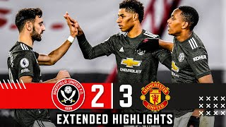 Sheffield United 2-3 Manchester United | Extended Premier League highlights | Rashford wins it