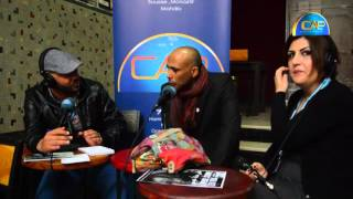 الممثلة السورية زينة الحلاق و الممثل التونسي زياد التواتي ضيوف  برنامج