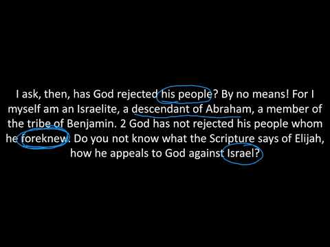 Romans 11 // All Israel Will Be Saved