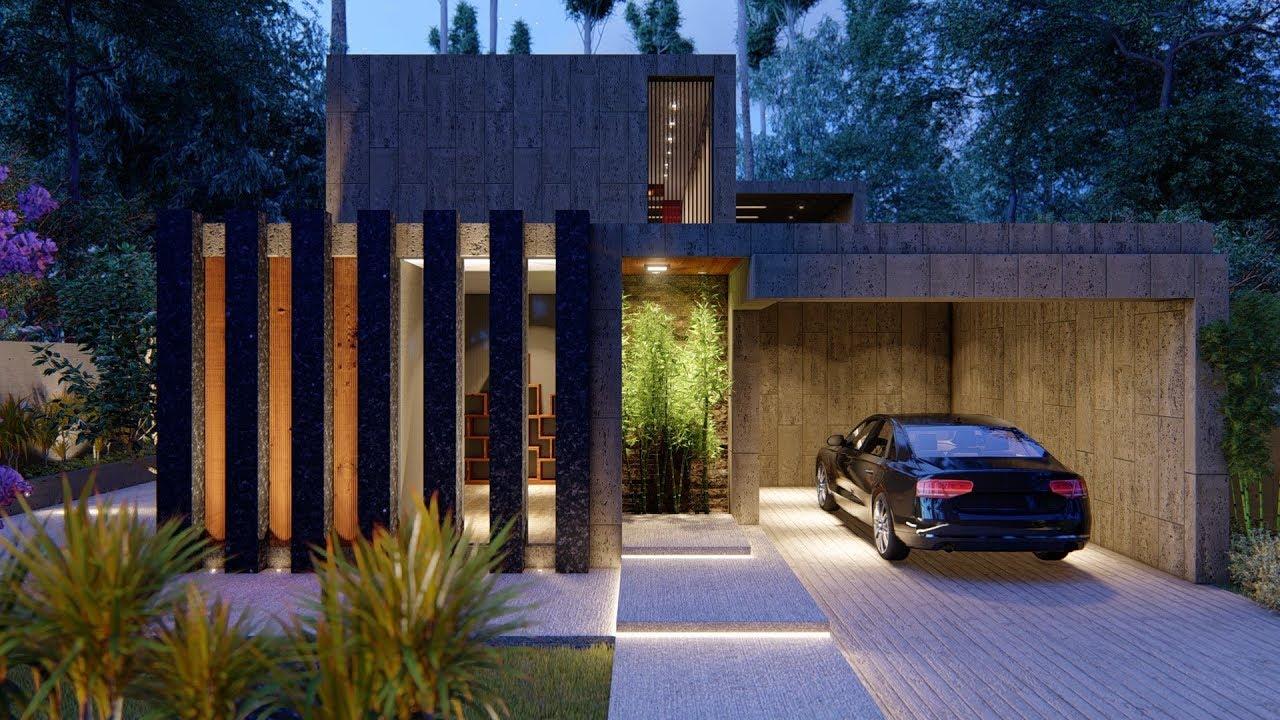 Lumion 8 pro render modern house6