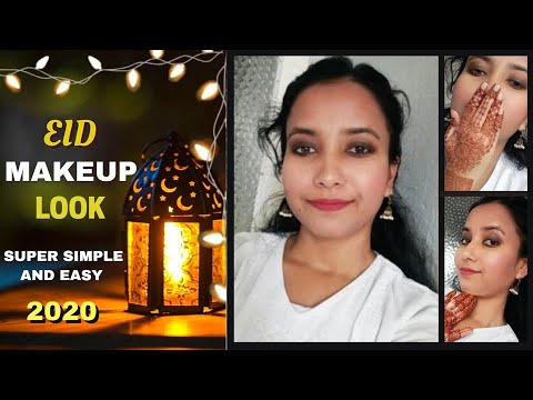 # EID MAKEUP  #EID MUBARAK   SIMPLE EID MAKEUP TUTORIAL | 2020