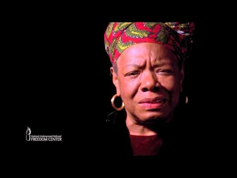 RE: maya angelou to a man from YouTube · Duration:  1 minutes 30 seconds