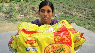 Maggi Noodles Recipe | Yummy Maggi Noodles Cooking By Street Village Food