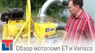 Обзор Дизельной Грязевой Мотопомпы Varisco VAR 6-250 FKL19 G11 TRAILER