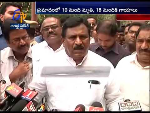 Khammam District Bus Accident Telugu CMs & Ministers Express Shock, Console Victims