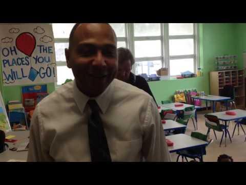 A tour of John Dibert Community School in New Orleans