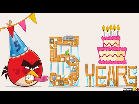 Angry Birds Birdday 5 All Level 30-1 To 30-30 Walkthrough 3 Stars