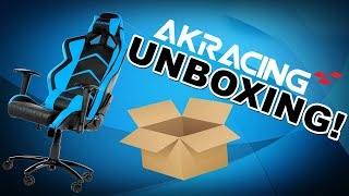 Fotel AKRACING Player - Unboxing! :D