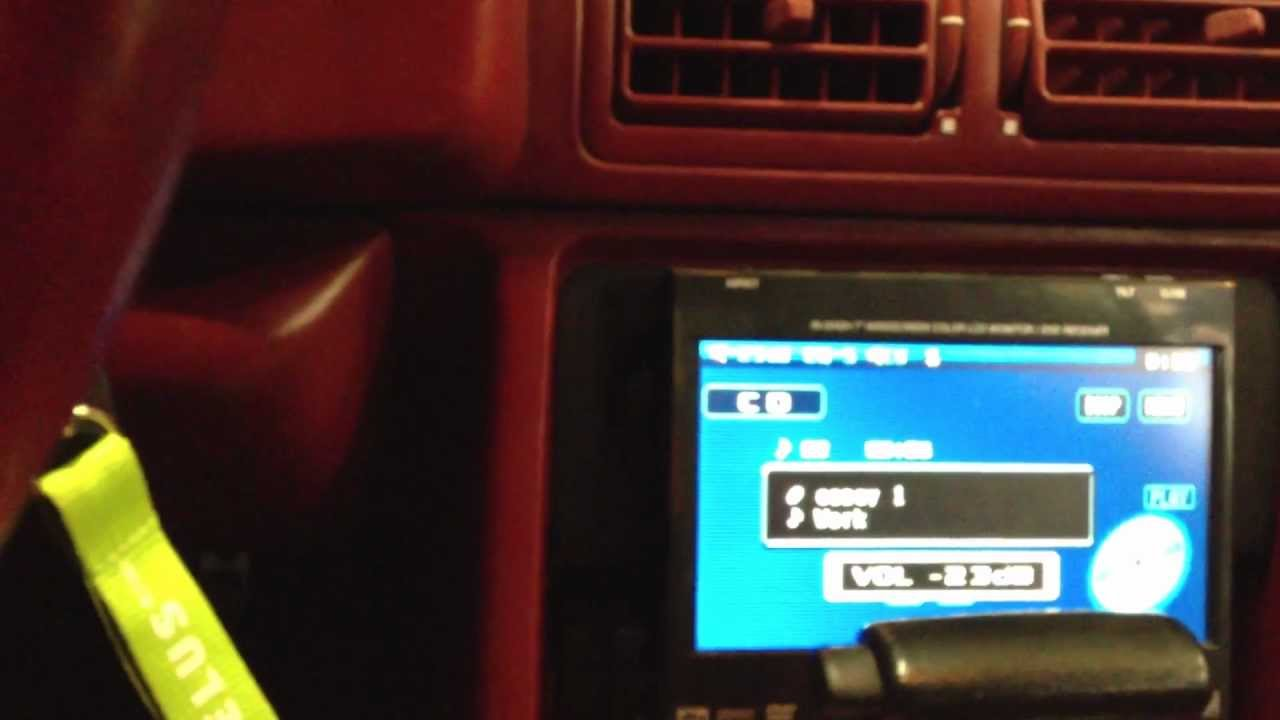 Fox Body Mustang >> 92 mustang stereo system - YouTube