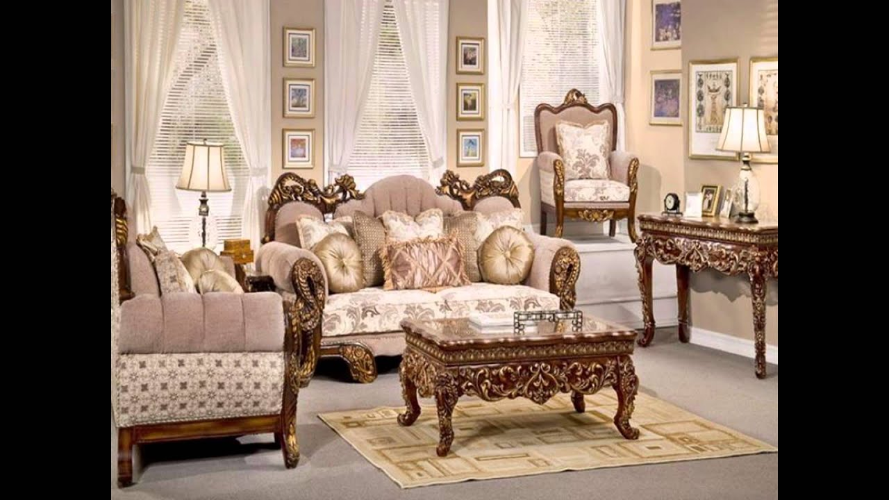 Elegant Living Room Furniture - YouTube