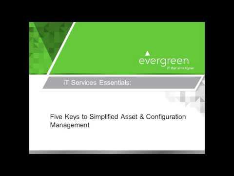 IT Asset and Configuration Management