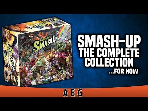 BoLS Overview | Smash Up: The Complete Collection | AEG