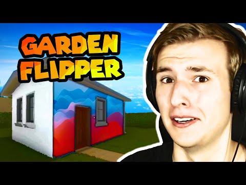 NATJERALI STE ME DA OBOJAM KUĆU (House Flipper #9) Garden Flipper DLC