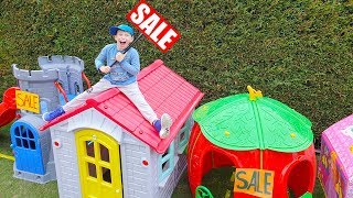 Ali and little sister playing house Sale, Playhouses for children