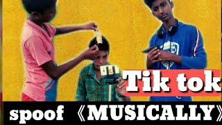 Tik Tok spoof MUSICALLY | |5 second|p4 paglaworld| Round 2 hell