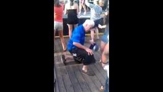 Hoodrat Grandpa Asssualts Woman On The Dancefloor