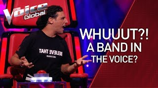 FIRST EVER BAND in The Voice   STORIES #36