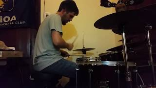 Panzerballett - Thunderstruck - One Take Drum Cover