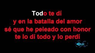 Alejandro Fernández ft  Morat   Sé Que Te Duele KAROKE DJK
