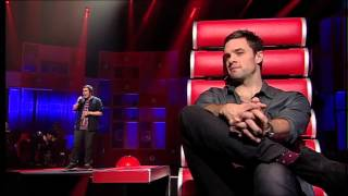 Gary Tighe performance on The Voice Of Ireland