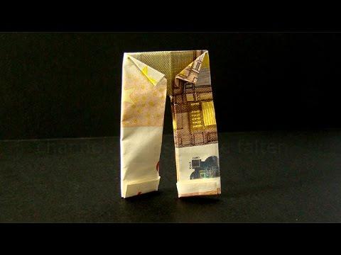 geldscheine falten hose origami kleidung geld falten hose geldgeschenke hochzeit basteln. Black Bedroom Furniture Sets. Home Design Ideas