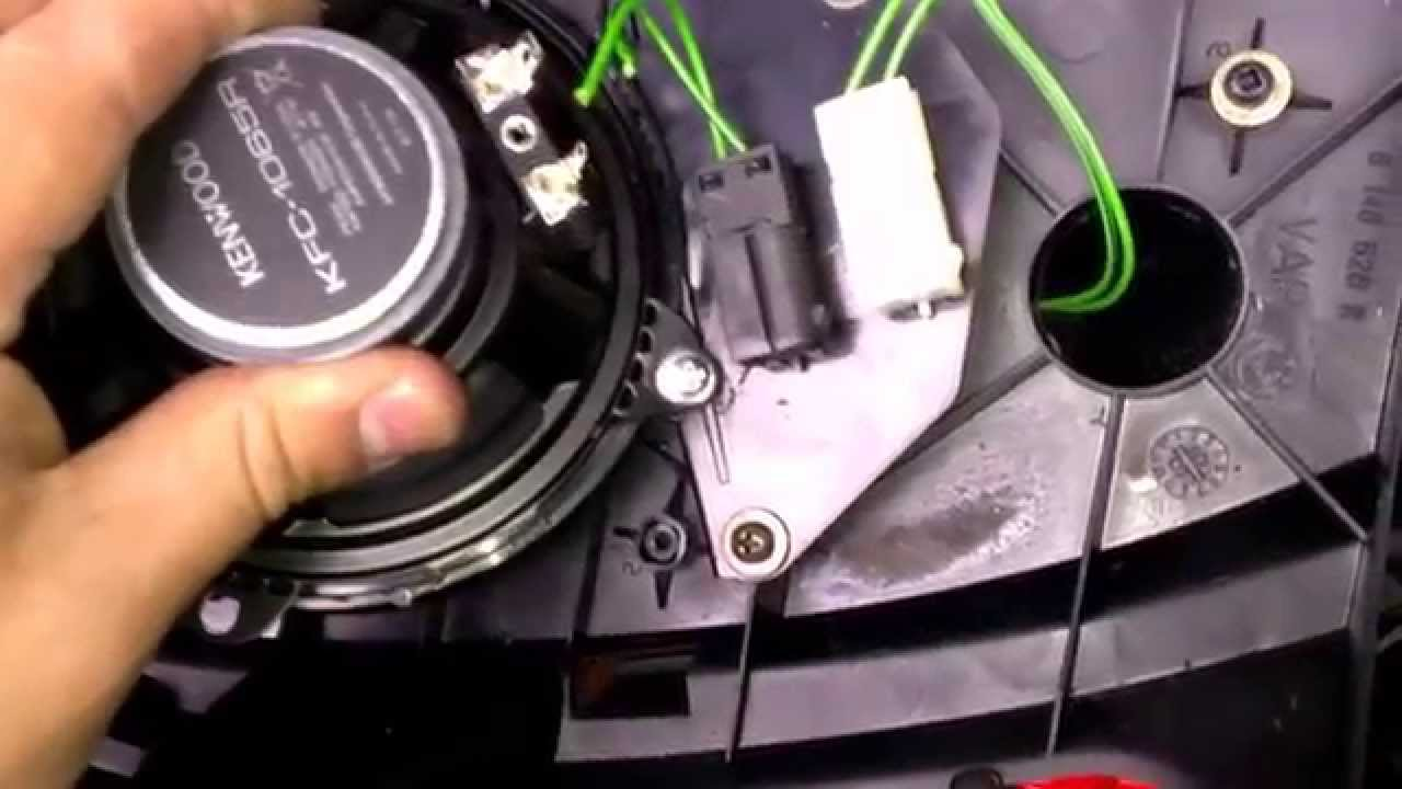 E36 Rear Speaker Wiring Diagram For Multiple Lights One Switch Bmw 318ti Install Youtube