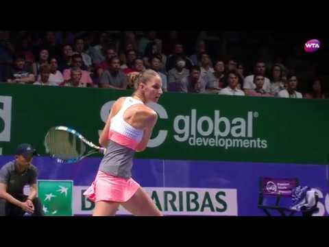 My Performance | Karolina Pliskova defeats Venus Williams | 2017 WTA Finals Singapore