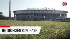 Hier ist Eintracht Frankfurt zu Hause   Exklusive Führung über das Stadiongelände
