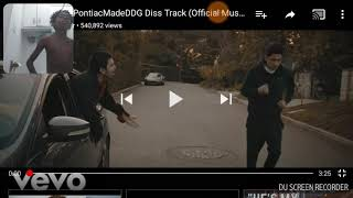 PontiacMade DDG DISS REACTION SUBSCRIBE im bout to hit 20 subscribes