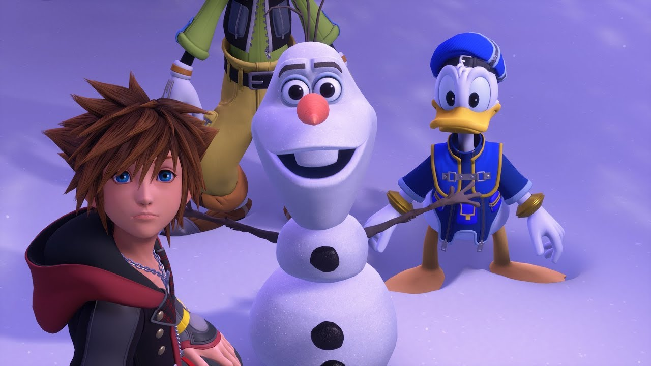 KINGDOM HEARTS III - Trailer di Frozen dell'E3 2018