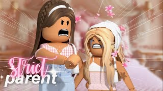 Kid's Morning Routine with a STRICT PARENT! | Roblox Bloxburg Roleplay