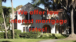 Low interest mortgage in St Pete Beach Florida