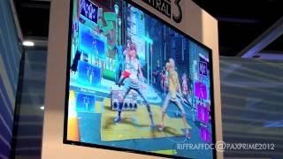 """Dance Central 3 """"Moves Like Jagger"""" (Easy) Off-Screen Gameplay Preview at PAX Prime 2012"""