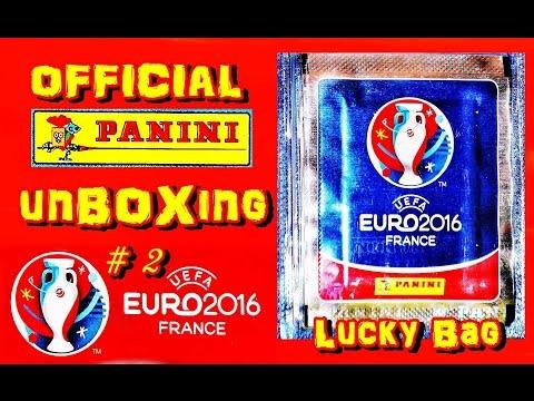 Panini Uefa Euro 2016 France New Official Sticker Album Em Frankreich New Unboxing 5 Aufkleber 2