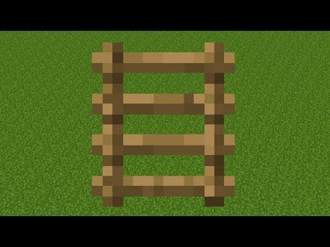 Как скрафтить лестницу
