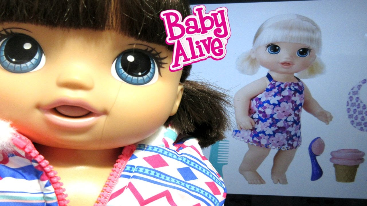 Baby Alive New Magical Scoops Baby Alive Youtube