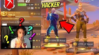 So I found a REAL Fortnite Hacker With UnReleased Skins! (HE WAS FORCED TO HACK!)