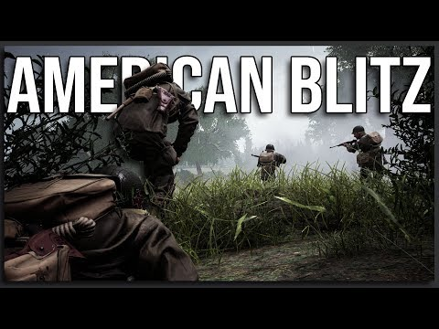 The American Blitz - 40v40 Post Scriptum Gameplay |