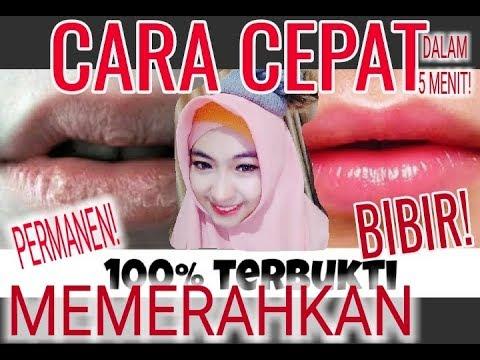 Cara Cepat Memerahkan Bibir Secara Permanen Penyebab Bibir Hitam Beautytips Youtube