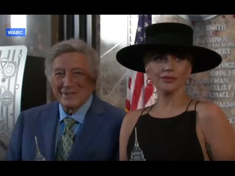 Tony Bennett Celebrates 90th Birthday With Lady Gaga
