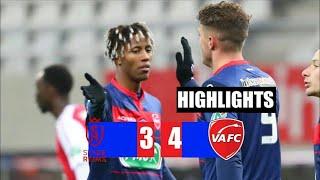 Реймс Валансьен 3 4 Обзор Матча 1 32 Финала Кубок Франции 09 02 2021 HD