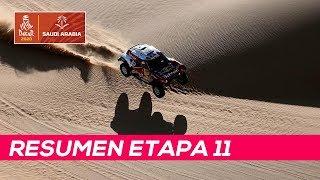 Sainz contiene los ataques y ya roza su tercer Dakar | Resumen Etapa 11 Dakar 2020