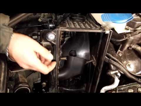007 замена воздушного фильтра Audi Q7