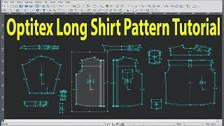 Optitex Shirt Tutorial   Men's Shirt Tutorial   Optitex Pattern Tutorial   Optitex Software   Bangla