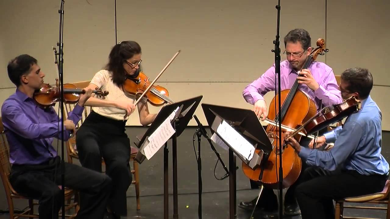 Max Bruch - String Quartet in c minor, Op. 9, 1st mvmt. CVCMF 2013